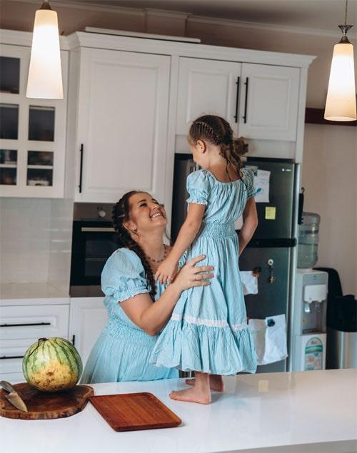 Платье для дочки и мамы