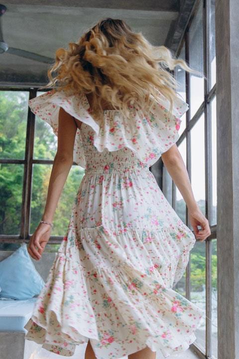 Платье хлопок ниже колен