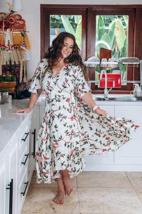 Купить платье на запахе