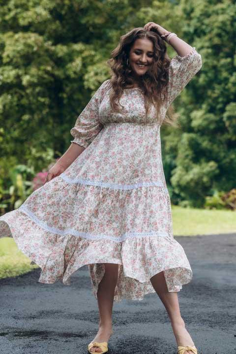 Нарядное домашнее платье OLga Valyaeva dress