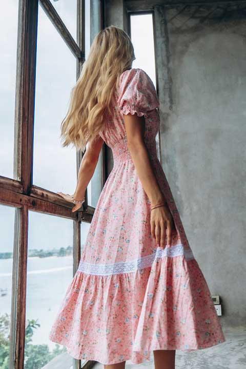 Нарядное домашнее платье для женщин