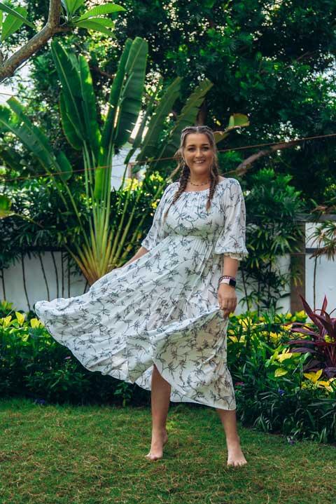 Платье Савитри от Ольги Валяевой