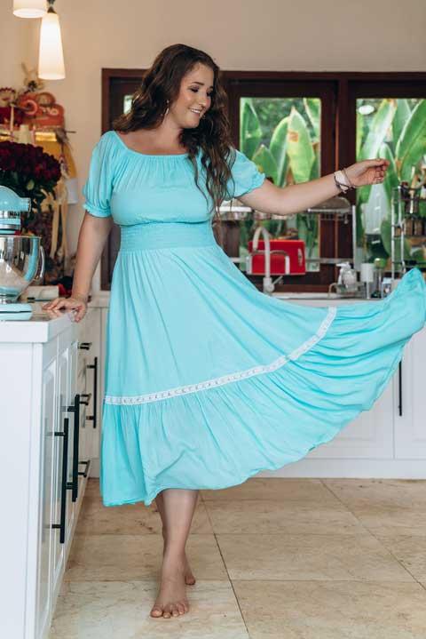 Нарядное домашнее платье