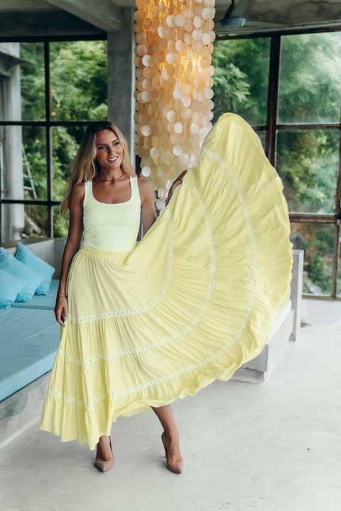 Шикарная юбка в пол - Olga Valyaeva dress