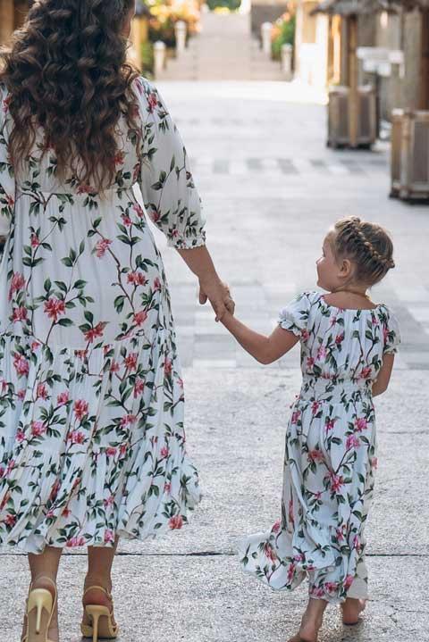 Мама и я - платье для маленьких принцесс