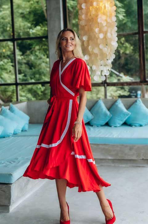 Купить платье для дома от Ольги Валяевой