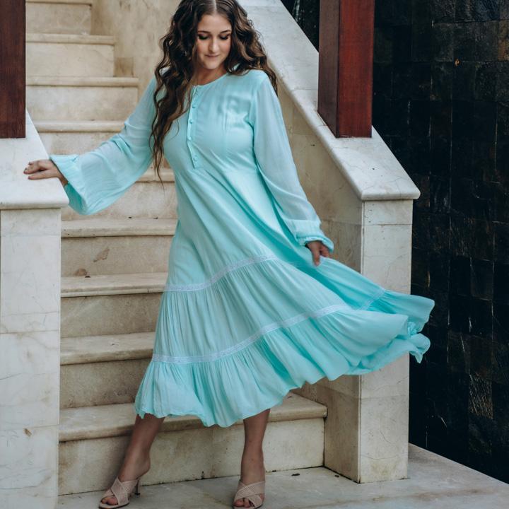 Платье Радхарани