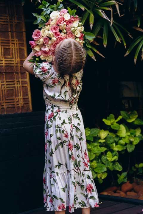Купить платье для мамы и дочки
